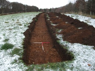 Archaeological evaluation, Trench 6 Post-Excavation, Site 624, Borders Railway Project