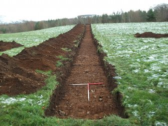 Archaeological evaluation, Trench 7 Post-Excavation, Site 624, Borders Railway Project