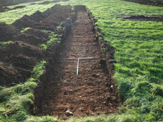 Archaeological evaluation, Trench 9 Post-Excavation, Site 624, Borders Railway Project