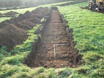 Archaeological evaluation, Trench 10 Post-Excavation, Site 624, Borders Railway Project