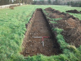 Archaeological evaluation, Trench 11 Post-Excavation, Site 624, Borders Railway Project