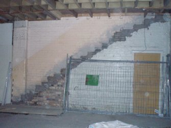 Historic building recording, Removed stairs, Waterston's Logie Green Printing Works, Edinburgh