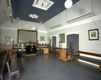 Aberdeen, Old Aberdeen, High Street, Town House, Interior. General view of Second Floor, main room from East.