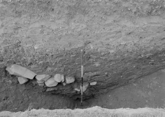 Excavation photograph - ditch section.