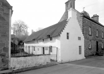 Hugh Miller's Cottage, Church Street. View from East
