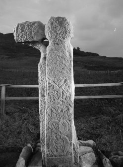 A'Chill, Canna. Free-standing cross.