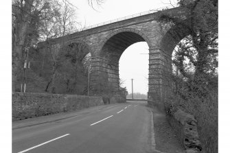Newbattle Viaduct (Lothianbridge/South Esk Viaduct) View from N