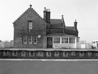 Midcalder Station, Station House View from SSE
