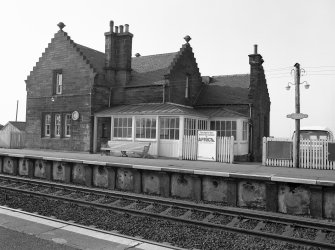 Midcalder Station, Station House View from SE