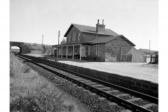 Fearn, Station View from SW showing station buildings