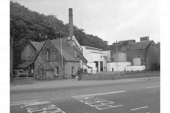 Inverness, Millburn Road, Millburn Distillery General view from N (Millburn Road) with Excise building in left foreground