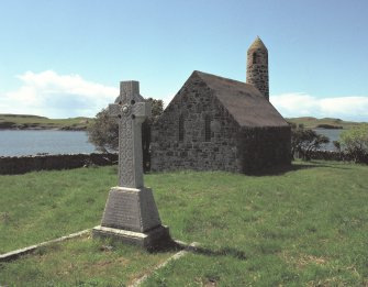Canna, Church of Scotland. View from NE.