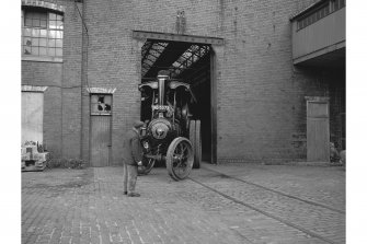 Glasgow, Albert Drive, Coplaw Tram Depot, interior View of traction engine