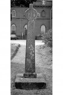 Inveraray Castle, Cross View of front of cross in grounds of Inveraray Castle