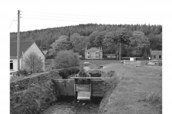 Cairnbaan, Crinan Canal, Sluice View of sluice on canal feeder