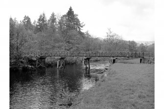 Glen Falloch, Bridge View from S showing SSW front