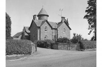 Stewart Tower, Farmhouse View from S showing WSW and SSE fronts