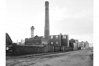 Kilbowie Ironworks, Refuse Destructor General View