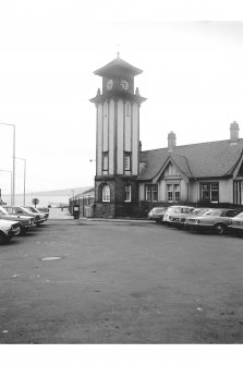 Wemyss Bay Station View of frontage