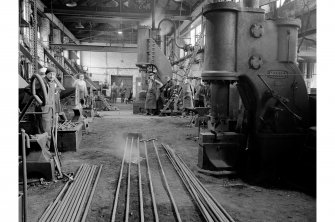 Glengarnock Steel Works, Smithy; Interior General View