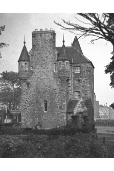 Edinburgh, Loaning Road, Craigentinny House. General view from East.