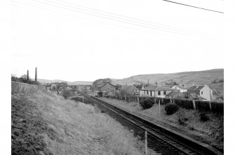 Waterside Station Distant view looking SSE showing store and station
