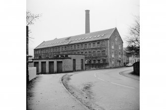 Johnstone, High Street, Barbush Mill General View