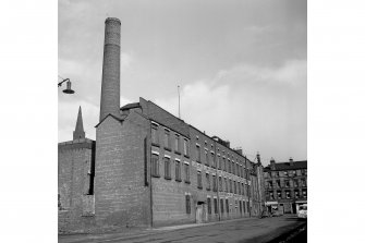 Glasgow, 16-22 Newhall Street, Newhall Street Weaving Factory General View