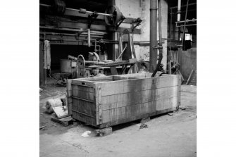 Perth, 1 Mill Street, Pullar's Dyeworks, Interior View showing hand-washing tub
