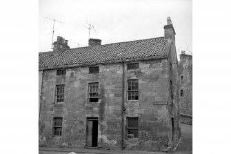 Cupar, 2 North Burnside, House View from SSW showing SSW and SE fronts