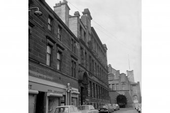 Glasgow, 19-27 Angus Street, Main Warehouse View of Angus Street frontage from E, Kemp Street creamery in Background
