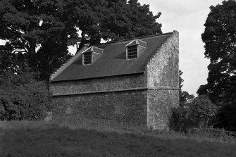 View  of a Dovecote at Midhope Castle on Hopetoun Estate