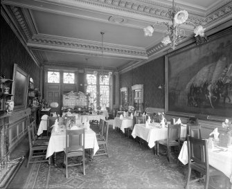 Interior View Of Dining Room George Hotel Glasgow
