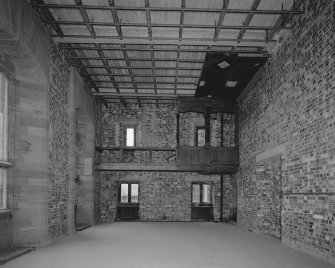 Interior. View of main hall from E. Digital image of C 38771