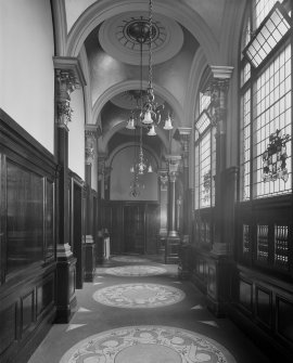 Interior - view of corridor (Clyde Navigation Trust)