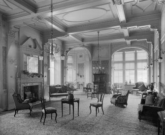 Interior-general view of Sitting Room in Craig House