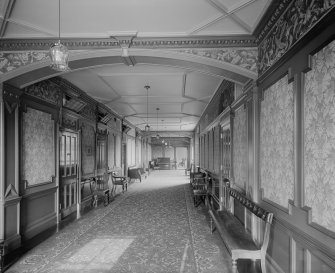 Interior-general view of Corridor in Craig House
