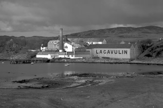 Lagavulin Distillery, view from South East. Digital image of A/57357.