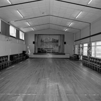 Large hall, view from South. Digital image of D 11745.