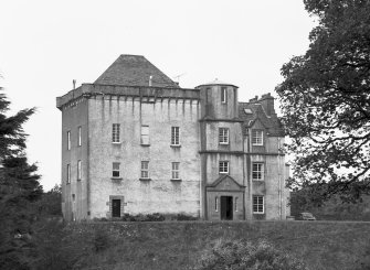 Craignish Castle. General view from South-East.