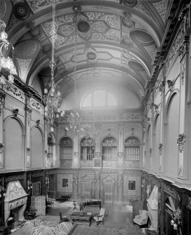 Interior-general view of Great Hall of Craig House