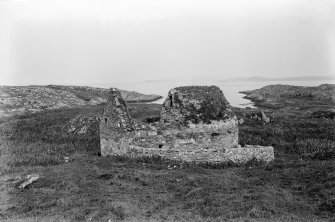 Eilean Mor, St Cormac's Chapel. View of chapel from the south-west.