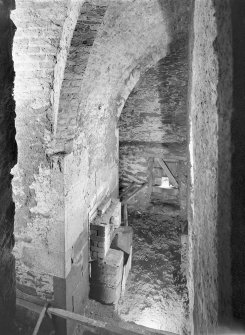 Interior. View of drying kiln. Digital image of AG 1486.