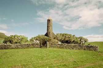 Canna, Church of Scotland. View from WSW. Digital image of C 45203 CN