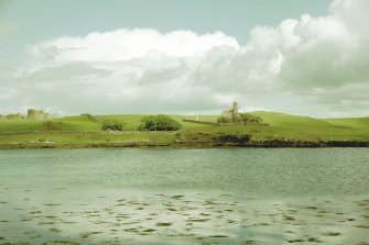 Canna, Church of Scotland. View from NW. Digital image of C 45210 CN