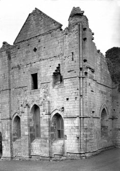 View of Chapter House. Digital image of BW 34