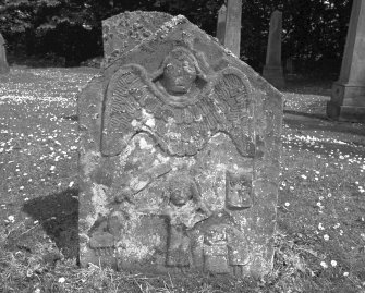 View of gravestone. Digital image of B 4311/3