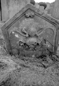 View of grave-stone. Digital image of LA/3769/3