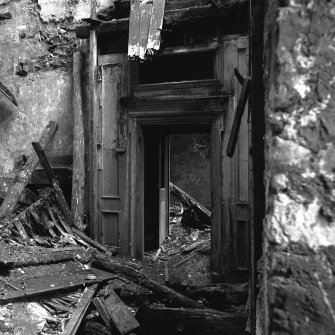 Interior. View of first floor door surround.