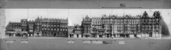 View of S elevation of Princes Street showing 47 - 77 Princes Street.